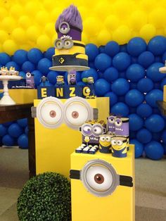 Despicable Me / Minions Birthday Party Ideas   Photo 3 of 7