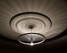Bike Wheel Ceiling Light