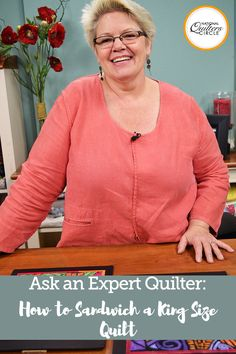 I have a question and hoping maybe someone can help me. I need to know how other quilters sandwich a king size quilt. I tried the floor – no good. I have two tables – too small. My husband said he would build me something, but wondering how others do it before we go that route. Any help would be greatly appreciated!