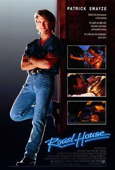 Road House (1989) - Can't believe I'd never seen this one.  it was a fun ride. :)