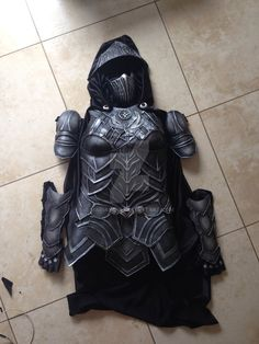 Nightingale armor finished by mariana-a on DeviantArt