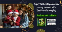 Family Boards, Family Board Games, Play Snake, Board Game Online, Offline Games, Classic Board Games, Ladders, Mobile Game, Snakes