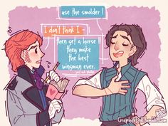 Hans gets brotips on girls (1/15 graphitedoll.tumblr)