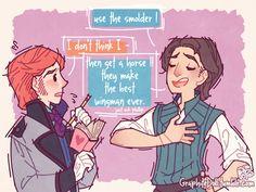 Hans gets brotips on girls (1/15 graphitedoll.tumblr)