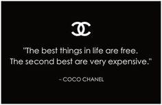 Fahion quotes chanel        #fashion #quotes #citazioni #chanel        VIA: www.ireneccloset.com