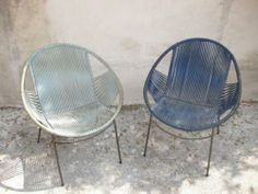 Pair of chairs - perfect for casual outdoor setting