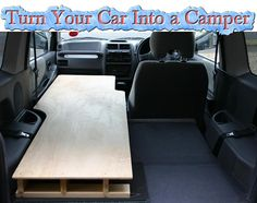 Turn Your Car Into a Camper Read HERE --- http://www.livinggreenandfrugally.com/turn-your-car-into-a-camper/