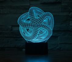 Action & Toy Figures 100% Quality Led Toys 2019 Action Figures New Abstract Person 7 Color 3d Lamp Led Acrylic Visual Lamp Creative Touch Illusion Lamp