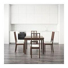 IKEA - BJURSTA / BÖRJE, Table and 4 chairs