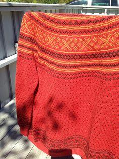 Ravelry: FrkChilli's Setesdalskofte Cardigans, Sweaters, Knits, Ravelry, Pullover, Knitting, Fashion, Tejidos, Moda