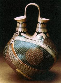 Mexican Ceramics, Lakewood Museum click now for more. Ceramic Clay, Ceramic Pottery, Pottery Art, Pottery Ideas, Cerámica Ideas, Mexican Ceramics, Native American Pottery, Wedding Vases, Mexican Art
