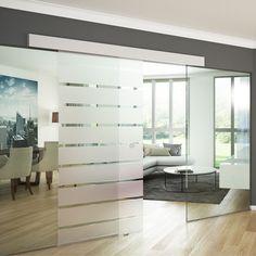 Skleněné posuvné dveře Arno 77,5 cm | Azzano.cz