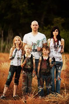 Family portrait - I would live to shoot a family portrait with a family willing to do this!