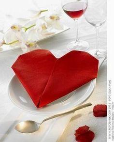 servilletas rojas boda - Buscar con Google