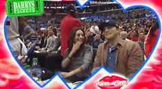 Step 2: Move your hat.   Mila Kunis And Ashton Kutcher Get Caught On The Kiss Cam