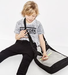 "Zara Campaign ""Black and white"" /Lookbook Boys"