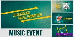 VideoHive Música Promo Evento