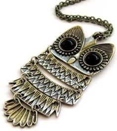 #DollarJewelry: Can you say spirit animal? This little owl is too presh for words.