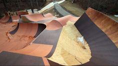 Travis Pastrama's Backyard BMX Pump Track.
