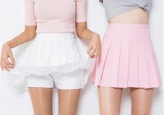 AA wild spring models pleated skirt tennis skirt A word skirt College wind pants female students