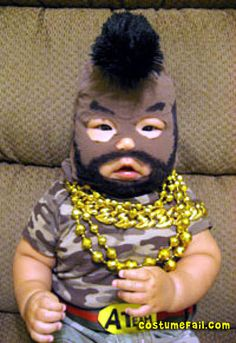 Mr. T Baby Costume ...Hilarious!!
