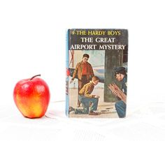 Hardy Boys Book Kindle Cover Nook Cover The Great Airport mystery.  Great gift for the pilot or flight attendant in your life!