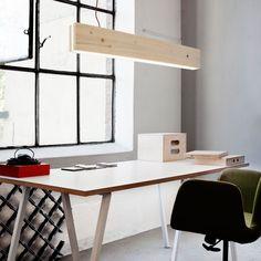 Un luminaire ultra design et simple à réaliser. bois recyclé