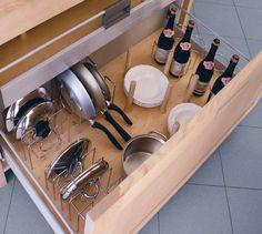 Resultado de imagen para guarda cacerolas cocina