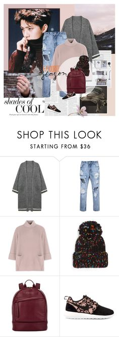 """On the snow"" by rainie-minnie ❤ liked on Polyvore featuring Chicnova Fashion, Carven, Eugenia Kim, Want Les Essentiels de la Vie and NIKE"