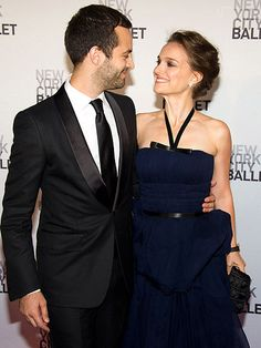 THE EYES HAVE IT  Joining Drew Barrymore at the New York City Ballet Gala: Natalie Portman and Benjamin Millepied, who leave baby boy Aleph at home to celebrate the new dad's dance company Thursday.
