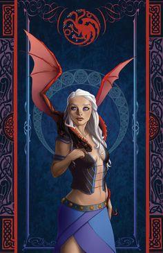 Daenerys by uialwen.deviantart.com on @deviantART