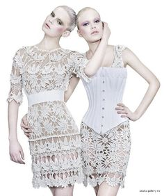 Outstanding Crochet: Crochet dress.