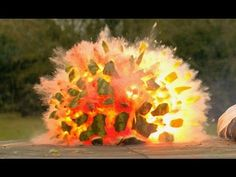 Rubber bands vs Water Melon - The Slow Mo Guys - YouTube