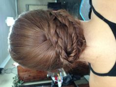 Wedding updo! By Me(: