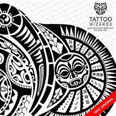 The Rock Tattoo Template Tattoo Wizards