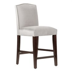 Skyline Furniture Nail Button Arched Stool