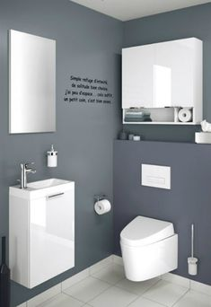 1000 ideas about cuvette wc on pinterest cuvette wc suspendu wc suspendu and cement - Deco wc design ...