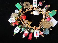 mah jong charm bracelet