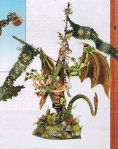 1999 - Open - Demon Winner, the unofficial Golden Demon website Warhammer Wood Elves, Warhammer Aos, Warhammer Fantasy, Warhammer Terrain, Warhammer Models, Fantasy Battle, Fantasy Races, Mini Paintings, Cool Paintings