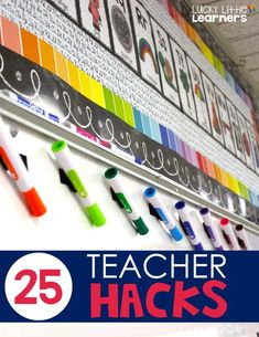 25 Teacher Hacks for