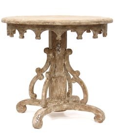 Bliss Studio Italian Baroque Pedestal Table