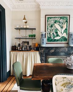 """Lilse McKenna on Instagram: """"I read this morning that green is """"the color of the year"""" for kitchens ♥️ it reminded of how much I loved mine in Brooklyn 🌿"""""""