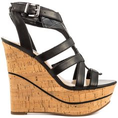 Guess Shoes Diane - Black Multi LL #prom heels
