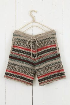 """fair isle short pants ++ niko and..."" from original pinner.  Anyway, I love these!"