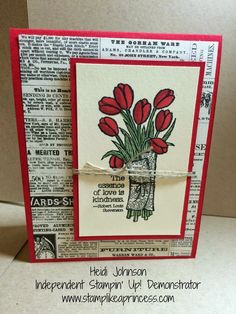 Love is Kindness - Stampin' Up! Occasions Catalogue 2015