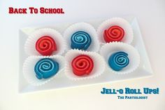 The Partiologist:  Jello Roll-Ups