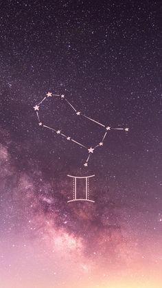 Gemini astrology aesthetic wallpaper