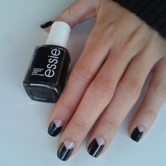 Negative Space Nail Art Ideas Trendy for 2015