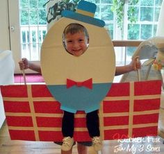 Kitchen Fun With My 3 Sons: Humpty Dumpty fell off a Sandwich!