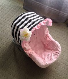 Infant CarSeat Cover Car Seat Cover Baby CarSeat by ChubbyBaby